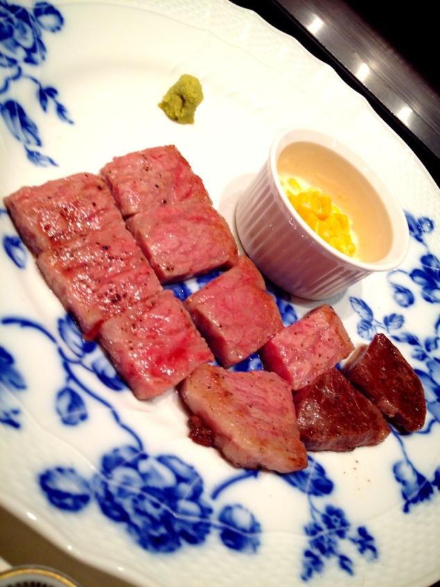 Medium Rare Saga Beef