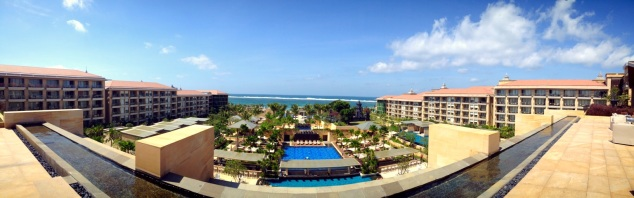 Panoramic View of The Mulia
